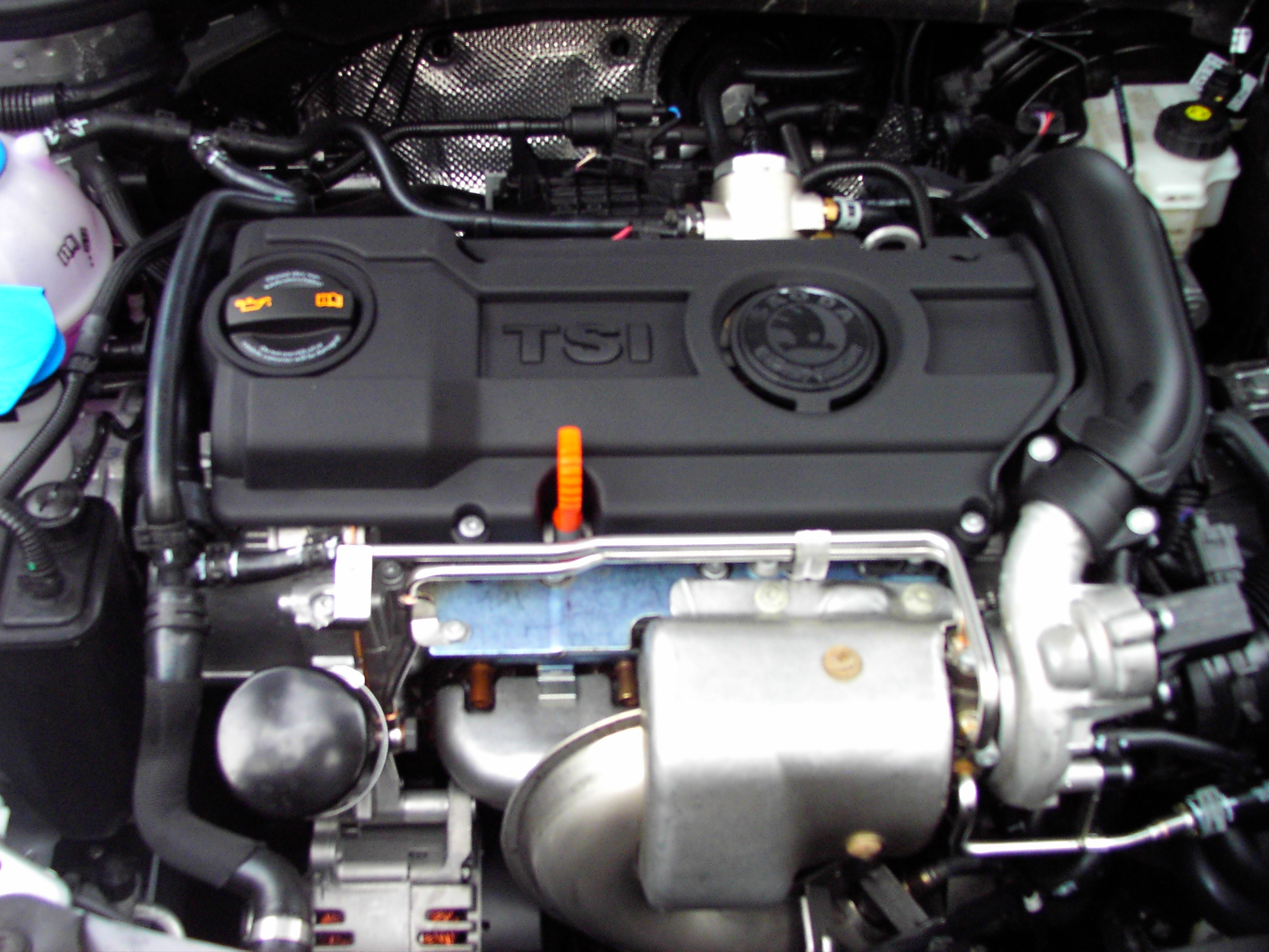 1.4 TSI-Motor - Keine Abdeckung !?