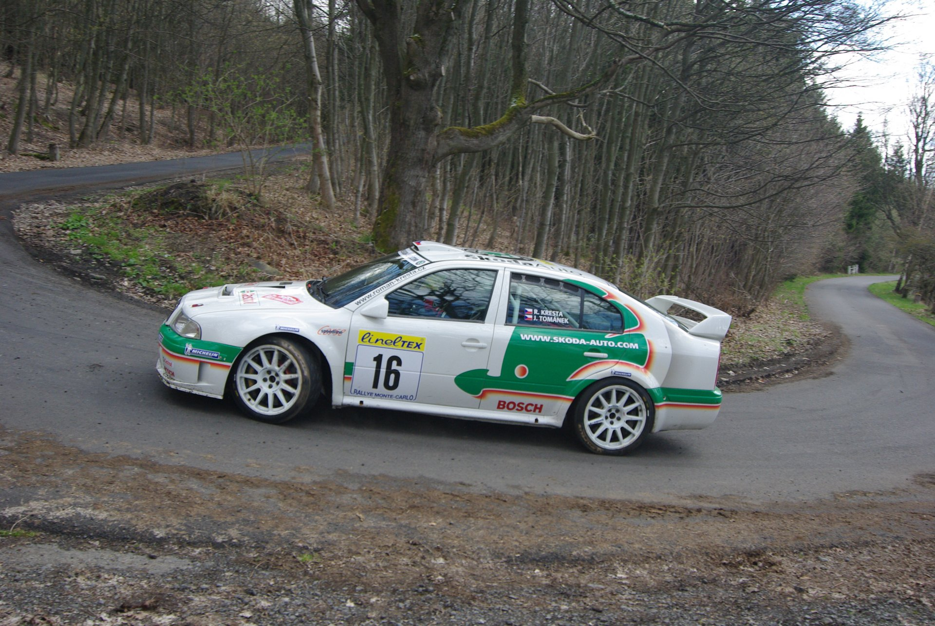 Skoda FABIA R5 Test Team KAHLE Motorsport