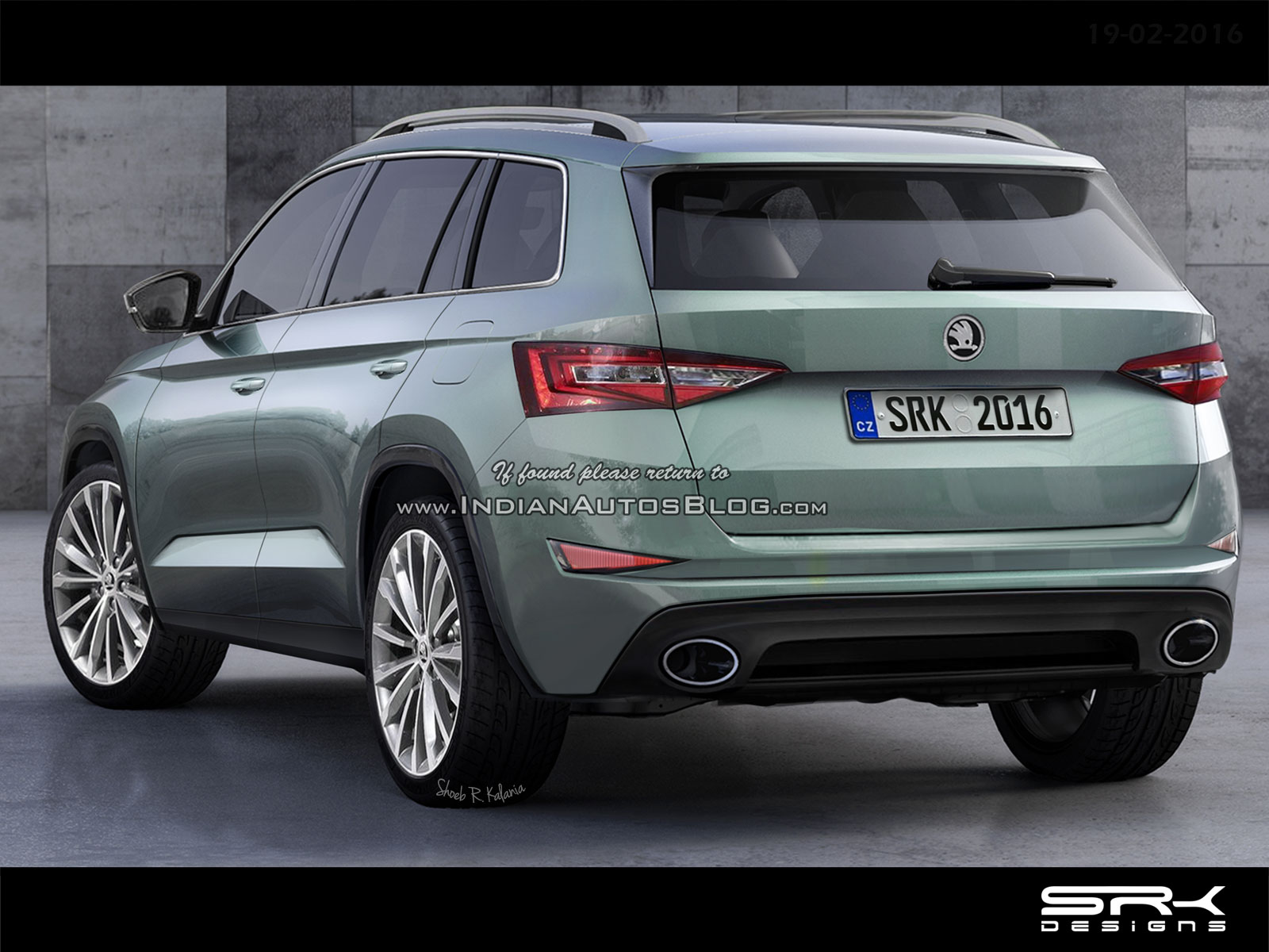 das skoda xl suv kodiaq seite 14. Black Bedroom Furniture Sets. Home Design Ideas