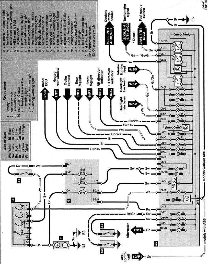 Berühmt Tacho Schaltplan Zeitgenössisch - Elektrische Schaltplan ...