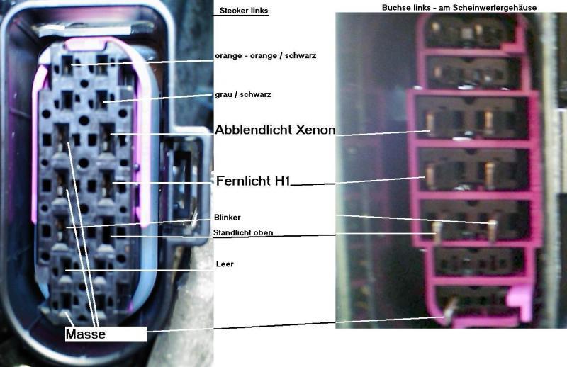 Wunderbar Scheinwerferstecker Schaltplan Bilder - Der Schaltplan ...