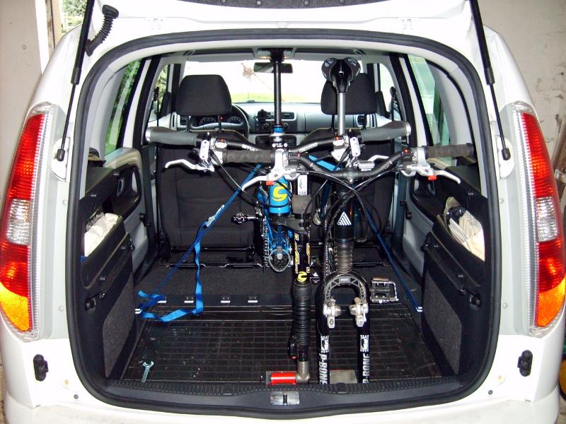 Fahrradträger Für Roomster Eigenbau Seite 2