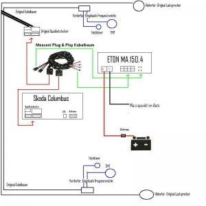 pimp my sound umbau des 8 lautsprecher standard soundsystems. Black Bedroom Furniture Sets. Home Design Ideas